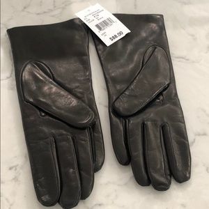 Brand new never used leather gloves